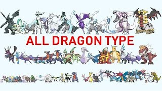 All DRAGON Pokemon From Smallest to Biggest 2020