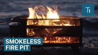 This Fire Pit Is Actually Smokeless