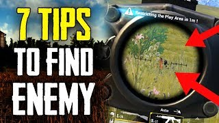 Top # 7 Tips to Spot Enemy Location [For new Players] | in Hindi | BlackClue Gaming
