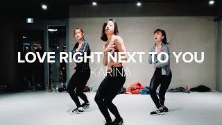 May J Lee teaches choreography to Love Right Next To You by Karina ...