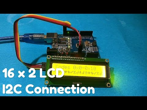 Download How To Connect An I2c Lcd Display To An Arduino Uno