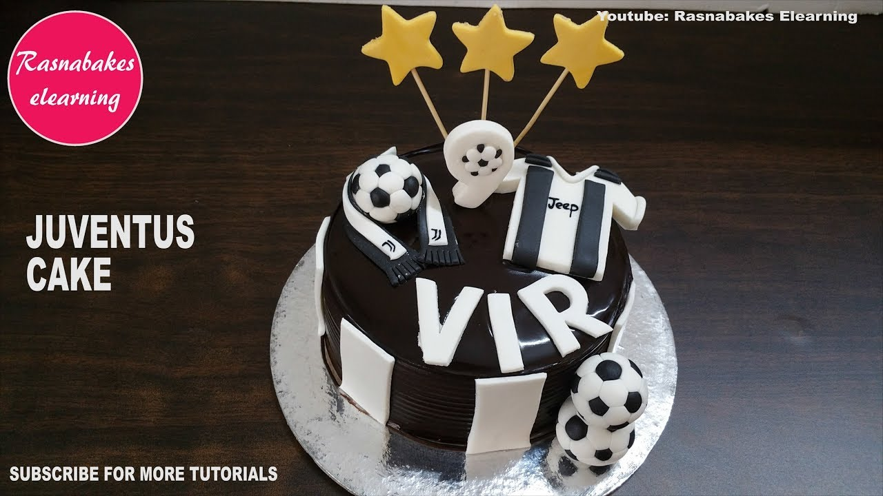 juventus football soccer ronaldo theme kids birthday cake design ideas decorating tutorial classes youtube juventus football soccer ronaldo theme kids birthday cake design ideas decorating tutorial classes