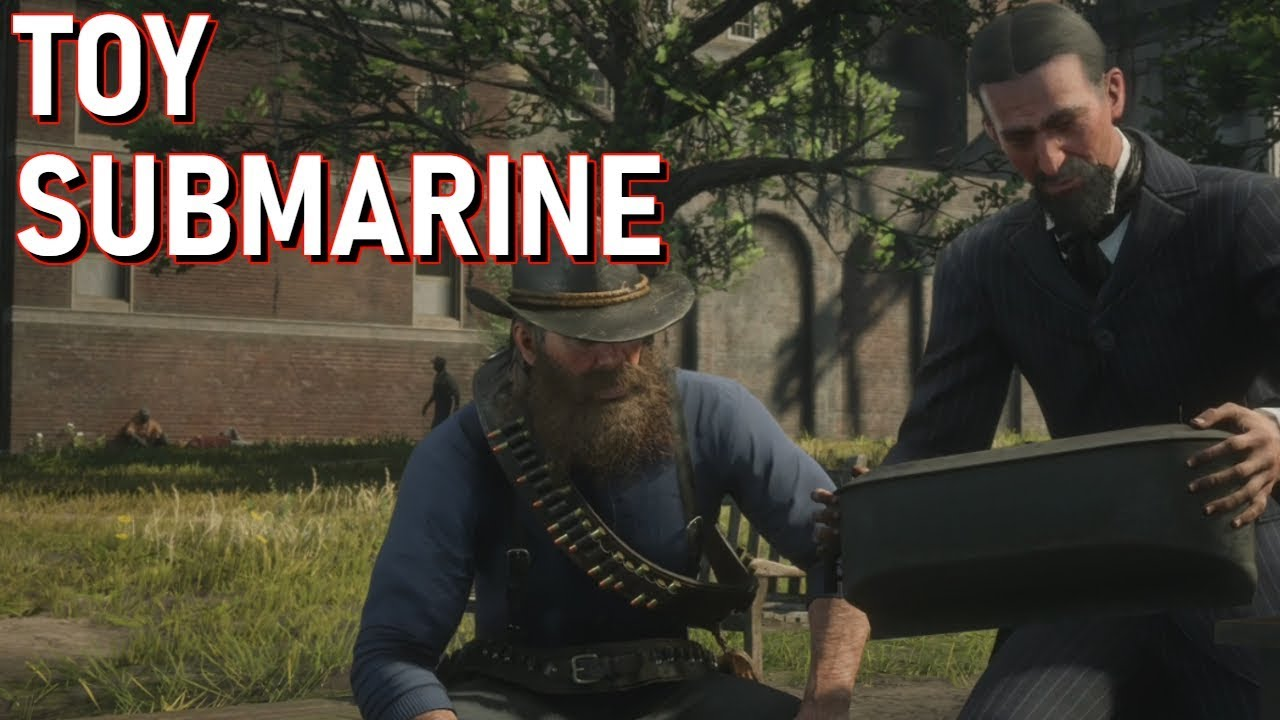 Red Dead Redemption 2 - Marko Dragic and the Toy Submarine (Stranger Mission)