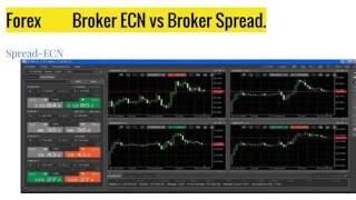 Forex  Broker Spread vs Broker ECN