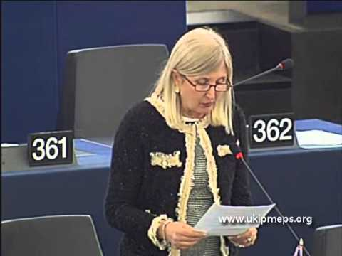 EU institutions growing like mushrooms - Marta Andreasen MEP