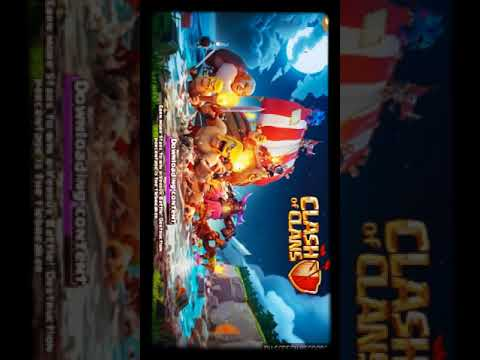 How To Fix Clash Of Clans  Downloading Contents 100% Working For Android