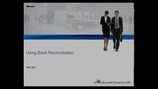 Microsoft Dynamics AX: Using Bank Reconciliation