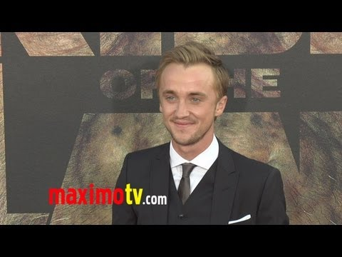 "Tom Felton at ""Rise of the Planet of the Apes"" Premiere"