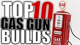 Top 10 Airsoft Gas Gun Builds   Real Gun Parts On Airsoft Guns