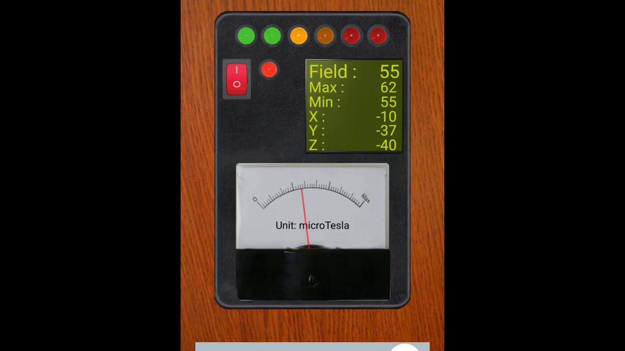 Testing Out Android EMF Detector App Electromagnetic Field and Ghost  Detector??
