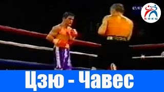 Костя Цзю против Исмаэля Чавеса. Бокс. Бой №21.
