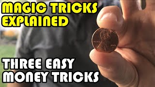 3 Easy Money Magic Tricks