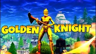 NEW SKIN* Golden Knight LOOKS INSANE - Fortnite Funny Fails & WTF Moments