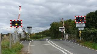 *Broken Barrier Lights* Pirton Level Crossing, Worcestershire