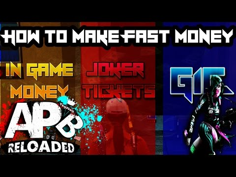 APB RELOADED (PS4) HOW TO MAKE FAST MONEY, JOKER TICKETS, AND BUY G1C (CRIMS)