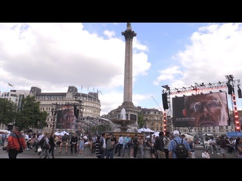 F1 Live London Event Takes Place In Trafalgar Square