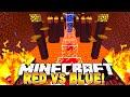 Minecraft - Red vs Blue Parkour! (TBNRfrags vs TBNRKenworth)