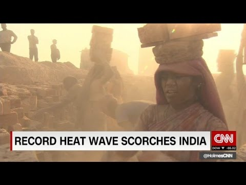 Record heat wave scorches India
