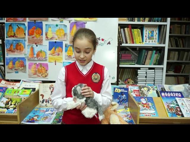 Изображение предпросмотра прочтения – ТаисияПопонина читает произведение «Я как-то в дом принёс щенка» М.Р.Садовского