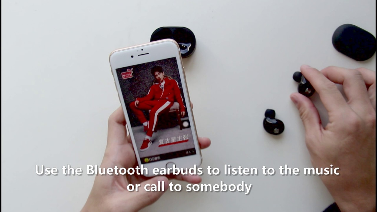 92ed28d2733 How to use TWS wireless bluetooth earbuds from DODUMI - YouTube