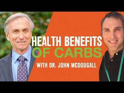 Reverse Disease with Starches and Carbs, Dr. John McDougall MD