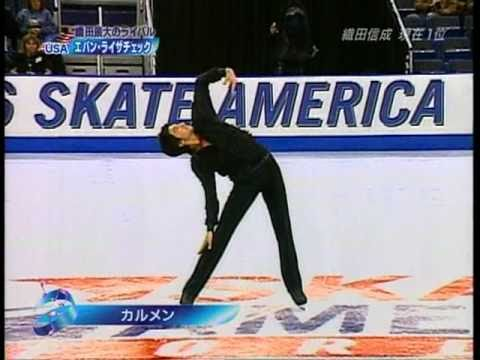 Evan Lysacek - 2006 Skate America FS Carmen