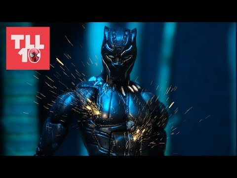 Black Panther: Warrior Stop-Motion Film