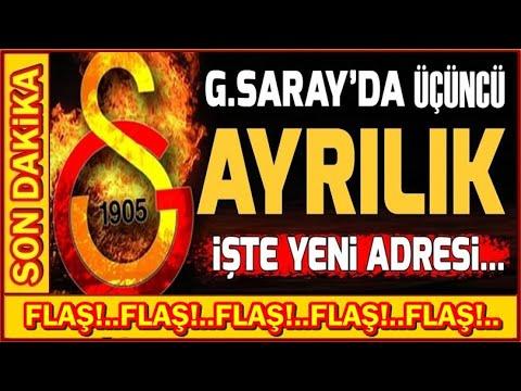 G SARAY'DA AYRILIK! HAYIRLI OLSUN... (Galatasaray Transfer Haberleri)