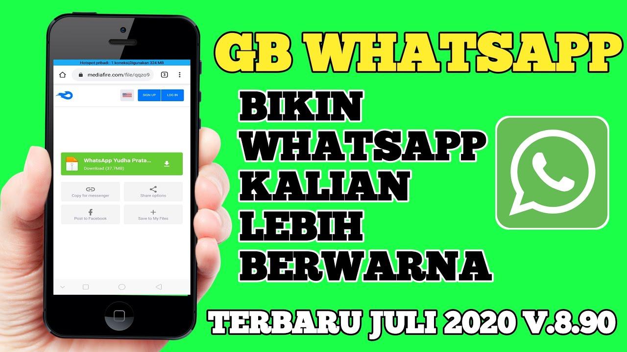 Cara Download Gb Whatsapp Terbaru 2020 Youtube
