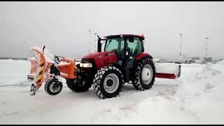 U ОБРАЗНЫЙ отвал от FMG   эффективная уборка снега.