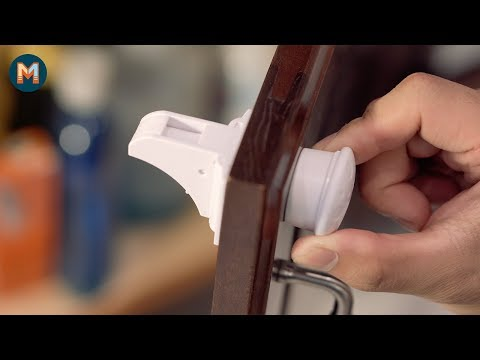 Eco Baby Magnetic Safety Lock Installation Video