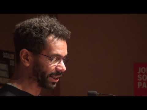 Hugo Pierre speaking at Socialism 2018
