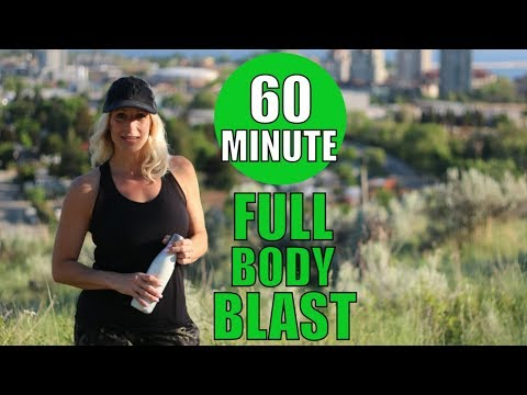 Full Body Workout | 60 Minute Total Body Training At Home
