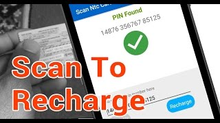 Fastest and Super Easy Recharge Card Scanner. Recharge using Camera. screenshot 2