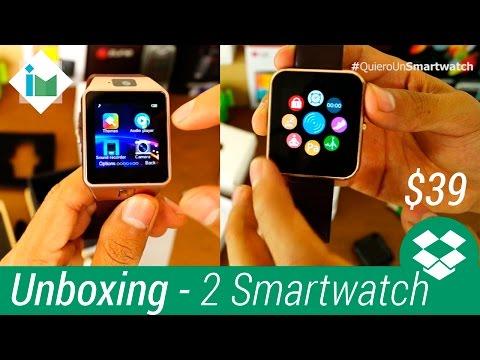 Unboxing de 2 Smartwatch