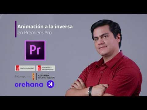 Animación a la inversa en Premiere Pro