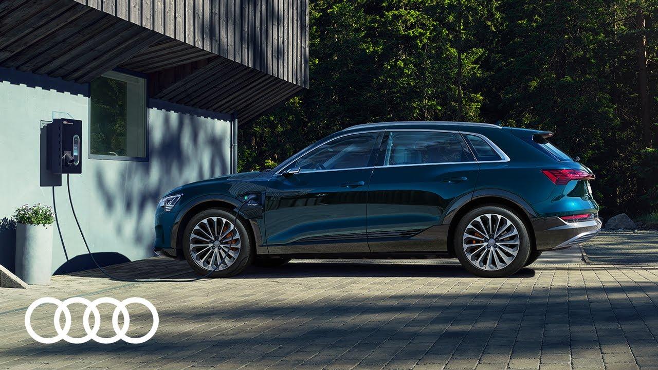 Audi e-tron – Laden zu Hause