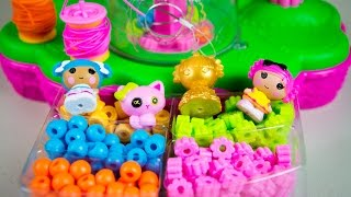 Lalaloopsy Tinies Jewelry Maker Playset Toy Review by Kinder Playtime
