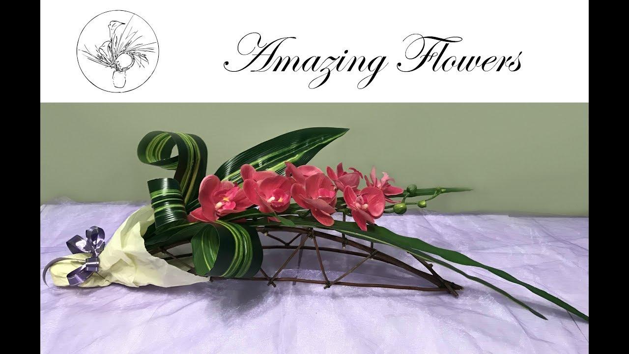 Diy orchid bouquet l amazing flowers youtube diy orchid bouquet l amazing flowers izmirmasajfo