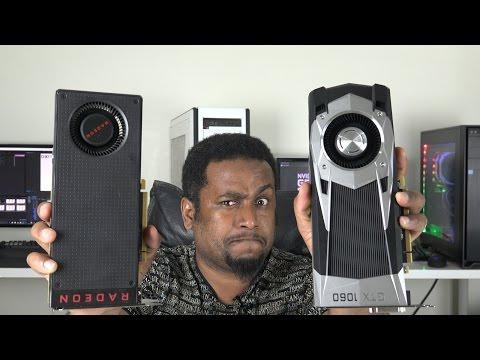 GTX 1060 6GB vs RX 480 8GB مقارنة