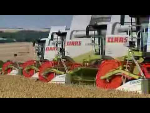 Claas Lexion 580-510 Original Video von Claas.de