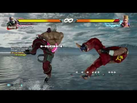 Tekken 7 - Bryan BnB, Advanced, Counter hit and Low Parry Combos & Using Taunt for Taunt Jet Upper