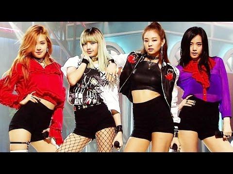 《Debut Stage》 BLACKPINK (블랙핑크) - WHISTLE (휘파람) @인기가요 Inkigayo 20160814