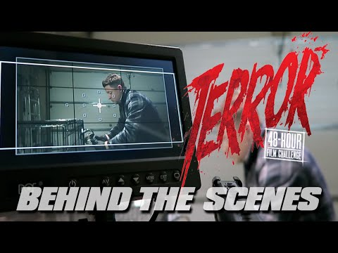 Making A Short Horror Film With @JOSHWRB  (Behind The Scenes)