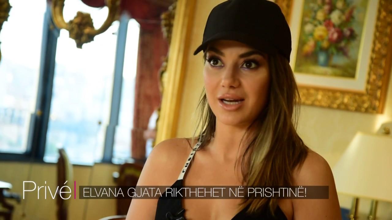 Elvana në Prishtinë: Kush i dha këngëtares unazën me diamantë? - YouTube