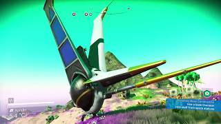 How to find an Exotic S Class starship in No Man's Sky