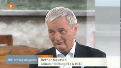 FLY & HELP: Reiner Meutsch im ZDF-Mittagsmagazin