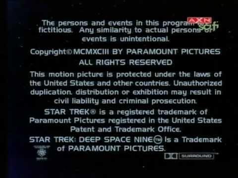 STAR TREK: DEEP SPACE NINE / ending credits [HQ]