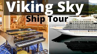 Viking Sky Cruise Ship Tour Review Bow to Stern - Cruise Fever