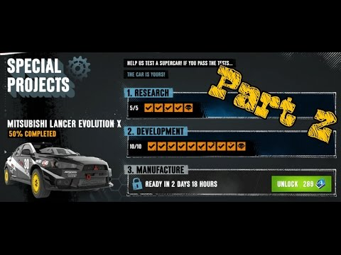 SPECIAL PROJECTS | MITSUBISHI LANCER EVOLUTION X | 3/1/1/1 | Part 2 |
